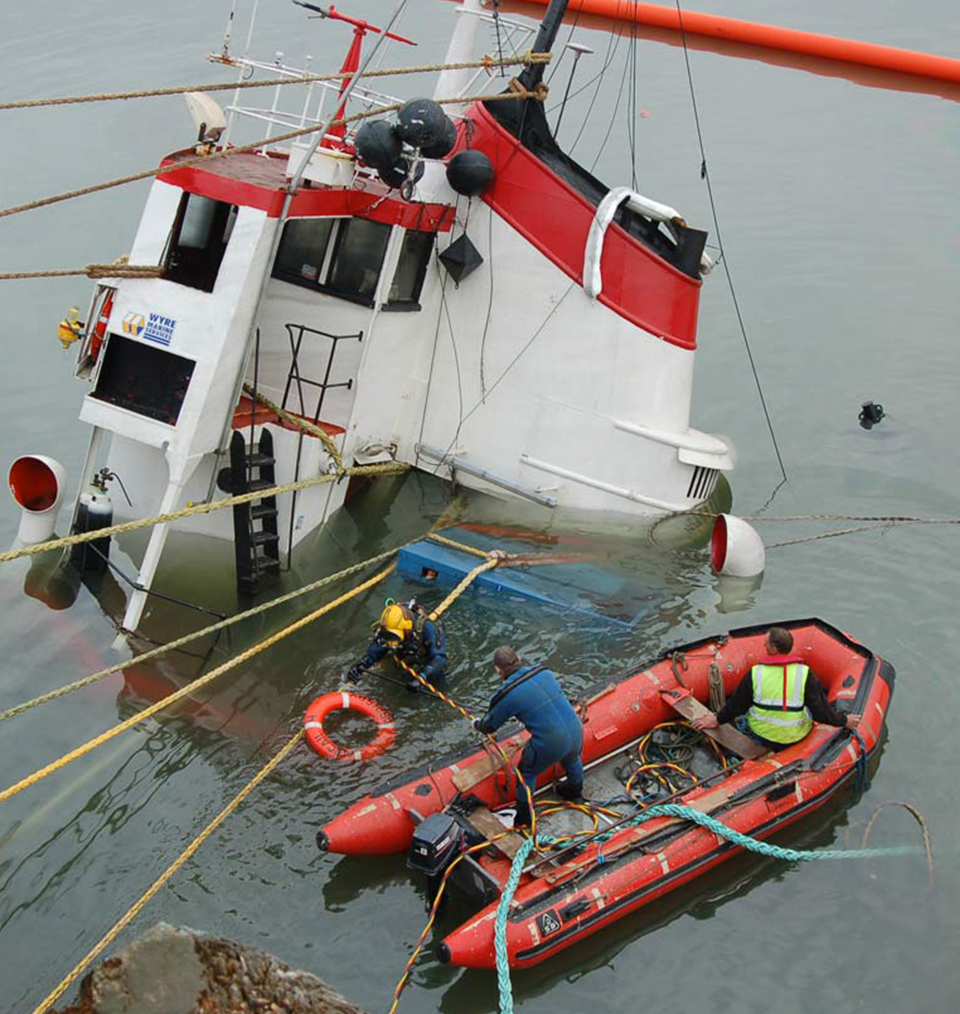 CDMS Diving Services - UK & International Availability